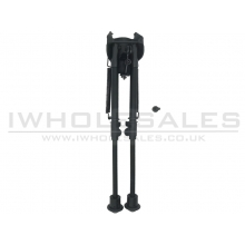 Cyma M24/M4 Bipod with Rail (Long - Black - HY-203)
