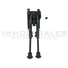 Cyma M24/M4 Bipod with Rail (Short - Black - HY-202)