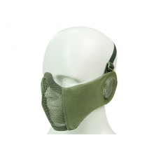 Big Foot Strike Steel Mesh Mask with Ear Protection (OD)