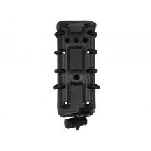 Big Foot 9mm Magazine Pouch (Polymer - Adjustable Elasticated Retention - Black)
