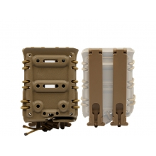 Big Foot 7.62 Magazine Pouch (Polymer - Adjustable Elasticated Retention - Tan)