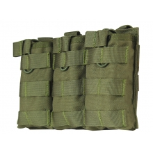 Big Foot Tactical Three Magazine Pouch for M4/AK/AUG (OD)