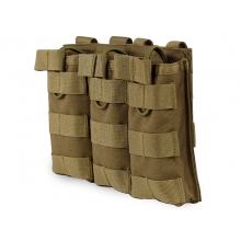 Big Foot Tactical Three Magazine Pouch for M4/AK/AUG (Tan)