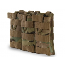 Big Foot Tactical Three Magazine Pouch for M4/AK/AUG (Multicam)