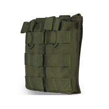 Big Foot Tactical Double Magazine Pouch for M4/AK/AUG (OD)