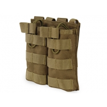 Big Foot Tactical Double Magazine Pouch for M4/AK/AUG (Tan)