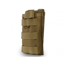 Big Foot Tactical Single Magazine Pouch for M4/AK/AUG (Tan)