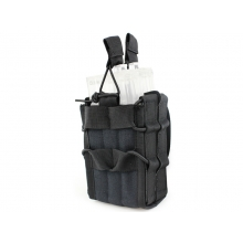 Big Foot Tactical Double M4 Pouch (Black)