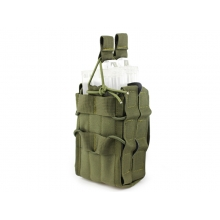 Big Foot Tactical Double M4 Pouch (OD)