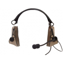 ZTac Comtac II - Electronic Ear Defenders and Coms Headset w/ Mic - DE