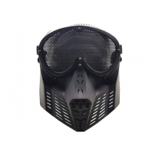 CCCP Big Flying Mask with Nylon Goggle (Black)