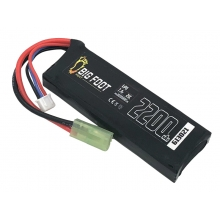 Big Foot Heat Lipo Battery 2200 mAh 7.4c 25c