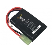 Big Foot Heat Lipo Battery 1300 mAh 7.4v 20c (Square - 102mm)