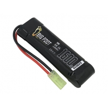 Big Foot Heat NiMH Battery 1600 mAh 2/3a 8.4v (3x2+1 - Block)
