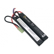 Big Foot Heat Lipo Battery 2600mAh 7.4v 25c (Continuous Discharge - Two Way Split)