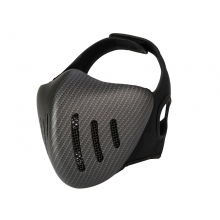 Big Foot Glory Knight Mesh Mask (Carbon Fibre)