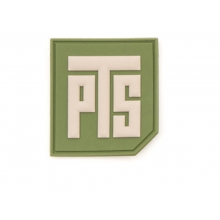 "PTS 1.5"" Tab Patch (Green)"