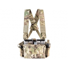 Big Foot D3CRM Chest Rig Vest (with Three Magazine Pouch - Multicam)