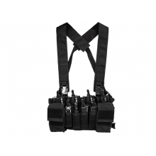 Big Foot D3CRX Chest Rig Vest (Black)
