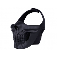 Big Foot Skull Lower  Mask (Black)