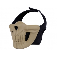 Big Foot Skull Lower Mask (Tan)
