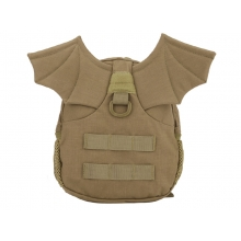 Big Foot Little Devil Kid's Backpack (Tan)