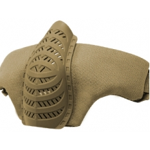 Big Foot Tactical Half Face Mask (Tan)