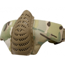 Big Foot Tactical Half Face Mask (Multicam)