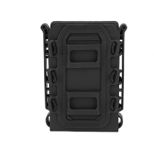 Big Foot M4/AK Fast Magazine Pouch (Polymer - Adjustable Elasticated Retention - Black)