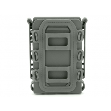 Big Foot M4/AK Fast Magazine Pouch (Polymer - Adjustable Elasticated Retention - OD)