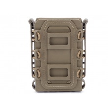 Big Foot M4/AK Fast Magazine Pouch (Polymer - Adjustable Elasticated Retention - Tan)