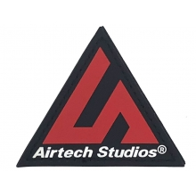 Airtech Studio Patch (Red/Black)