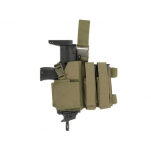 CCCP SMG Dropleg Holster (2 Mag. Pouch - OD)