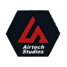 Airtech Studio Patch (Red/Black - Hexagon)