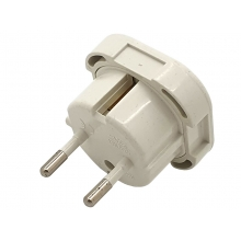 CCCP EU 2 Pin to UK 3 Pin Plug (16a - With Fuse - Pack of 1)