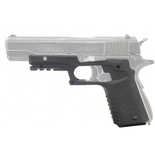 CCCP 1911 Full Lower Frame Cover with Under Rail (Black)