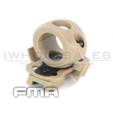 FMA Single Clamp for 0.83 flashlight (Tan) (TB369)