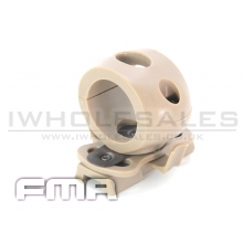 FMA Single Clamp for 1 flashlight (Tan) (TB372)