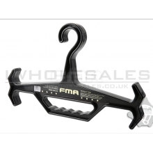 FMA heavyweight tactical hangers (Black) (TB1015-BK)