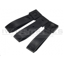 FMA 3 Strap buckle accessory (3pcs for a set) (Black) (TB1032-BK)