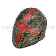 FMA Wire Mesh Cross the King Mask (Gold) (TB610)