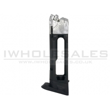 Grandpower K100/P1MK7/X-Calibur Magazine (Blowback Only - Co2 - 4.5mm - Black)