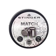 Stinger Match BB 5.5 (4.5mm - .177 - 500 Rounds)