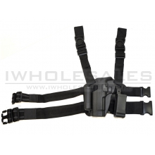 CCCP Big Leg Holster M92/M9 (Left Handed) with Two Pouches (Hard)