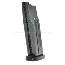 HFC MK23 GGH-0302 Gas Magazine (28 Rounds - Metal - Black)