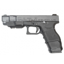 WE 33 Series Gen 3 Gas Blowback Pistol (Black)