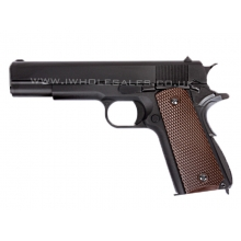 WE 1911 Gen. 2 Gas Blowback Pistol (Full metal - Black)