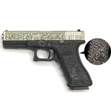 WE Pistol Ivory Etched Gen 3  GBBP