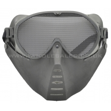 CCCP Small Flying Mask with Mesh Goggle (Black)