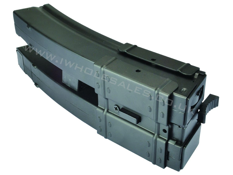 Dual electric wind up magazine mp5 500 rounds